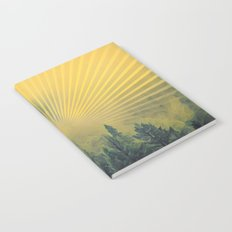 Golden Rays Forest #society6 Notebook