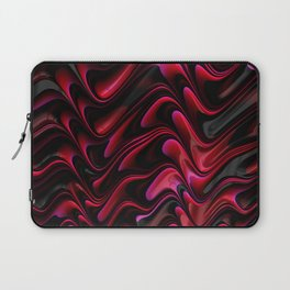 Red Wave Laptop Sleeve