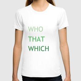 Grammar III T-shirt