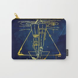 Midnight Bath - Blue/Gold pallette Carry-All Pouch