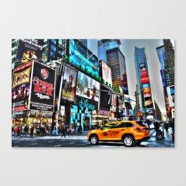 Times Square NY Canvas Print