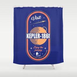 Kepler Shower Curtain
