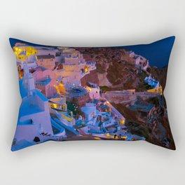 Santorini. Rectangular Pillow
