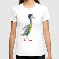 duck T-shirts featuring duck by tatiana-teni