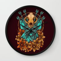 sphynx Wall Clocks featuring Sphynx Cat by Robin Clarijs