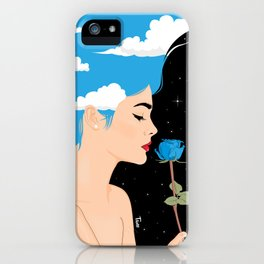 Scent Of Blue iPhone Case