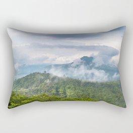 Mt Batur - Bali, Indonesia Rectangular Pillow