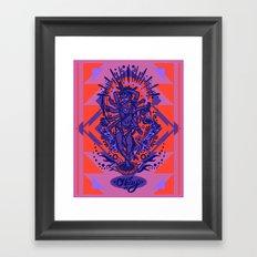 West Kali - Color Framed Art Print