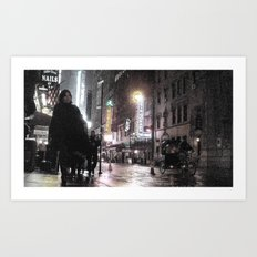 Rosie O's By Times Square Art Print
