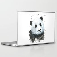 percy jackson Laptop & iPad Skins featuring Percy the Panda by Linden Reekie