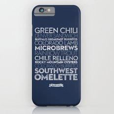 Denver — Delicious City Prints Slim Case iPhone 6s