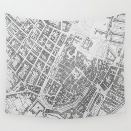 Vintage Map of Stuttgart Germany (1794) Wall Tapestry
