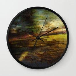 Oxidized Studies #1 Wall Clock