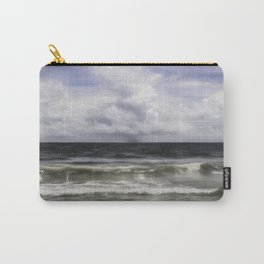 Rain on the Sea Carry-All Pouch