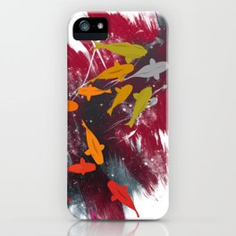 Aiming for the moon iPhone Case