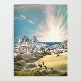 In A Beautiful Place Out In The County Poster