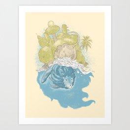 Singapura Art Print