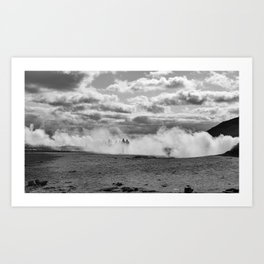 Through the Fog Art Print