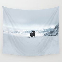 Winter View Wall Tapestry