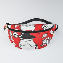 Spirit Away Characters Fanny Pack