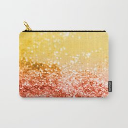 Tropical Summer Lady Glitter #2 #shiny #decor #art #society6 Carry-All Pouch