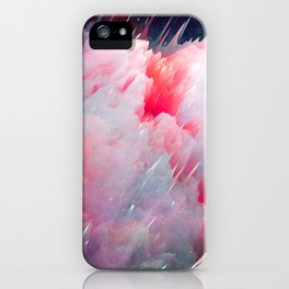 Space Unicorns Are Sounding the Sirens iPhone Case