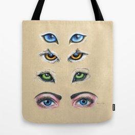 Eyes See You  Tote Bag