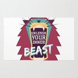 Unleash Your Inner Beast Rug