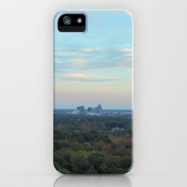 Greensboro Skyline iPhone Case