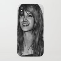 hayley williams iPhone & iPod Cases featuring Hayley Williams by ''Befne''