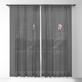 Love Space Sheer Curtain