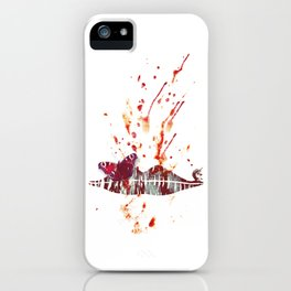 Bloody Lips iPhone Case