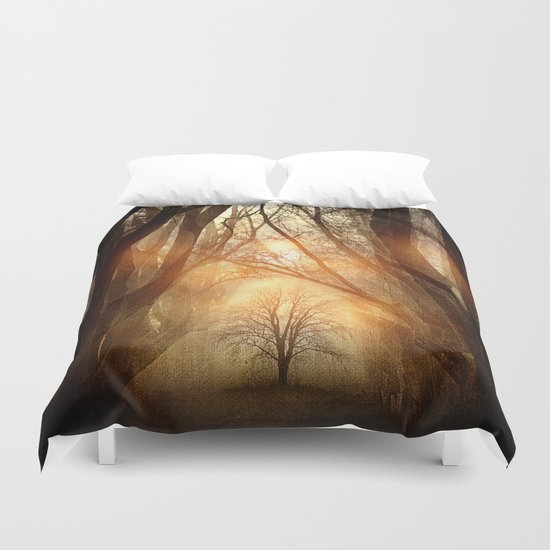 Searching Dreams Lost Duvet Cover