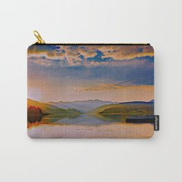 Travel to Sunset 01 Carry-All Pouch