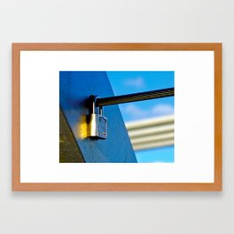 Love Locks 2012 44 Framed Art Print
