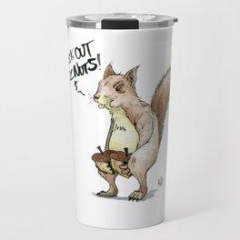 A Sassy Squirrel Travel Mug