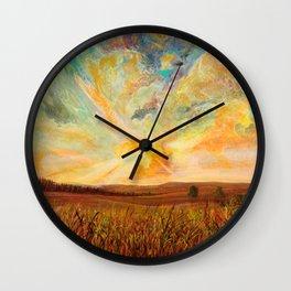 color tumoil Wall Clock