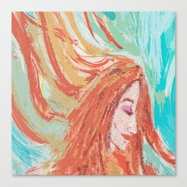 Firey Canvas Print