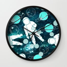 Space Astronaut Wall Clock