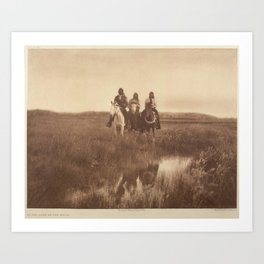 In the land of the Sioux  Art Print