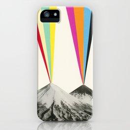 Volcanos iPhone Case