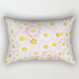Daisy Flowers Rectangular Pillow