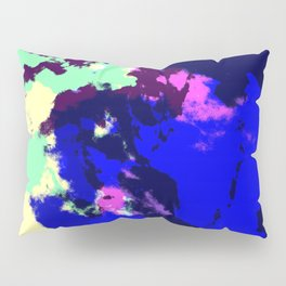 Ichithomie - Abstract Colorful Batik Camouflage Tie-Dye Style Pattern Pillow Sham