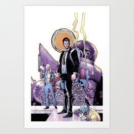 BRIK JONES: ATTORNEY FOR EARTH, The case of case number 69 - cover Art Print