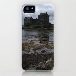 Eilean Donan Castle in Scotland iPhone Case