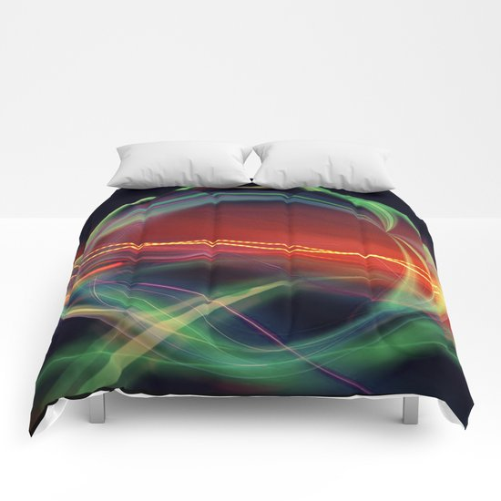 The Gate Abstract Comforters