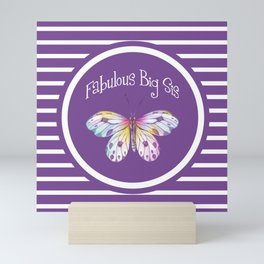 Fabulous Big Sister Gifts Mini Art Print