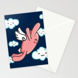 RABBIGFOOT- FAVE MOVIE POSTERS Stationery Cards