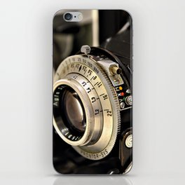 Old camera iPhone Skin