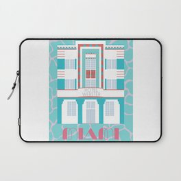Miami Landmarks - Hotel Webster Laptop Sleeve